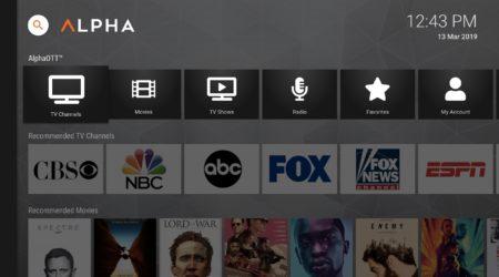 New UI for AndroidTV, FireTV, and AOSP