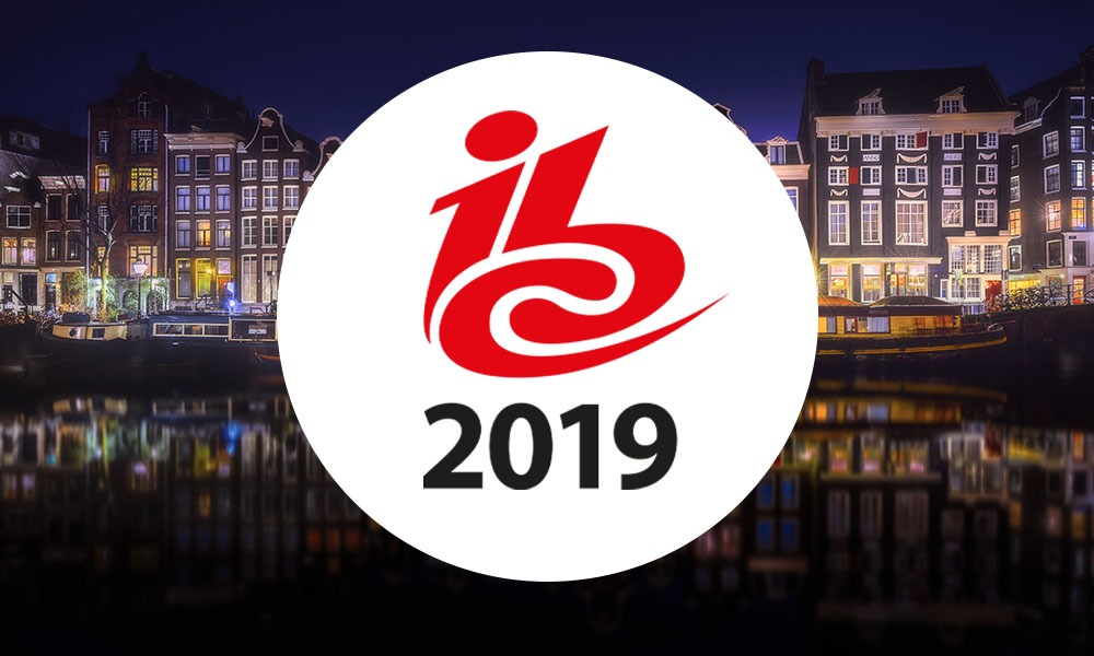 Meet us in IBC2019