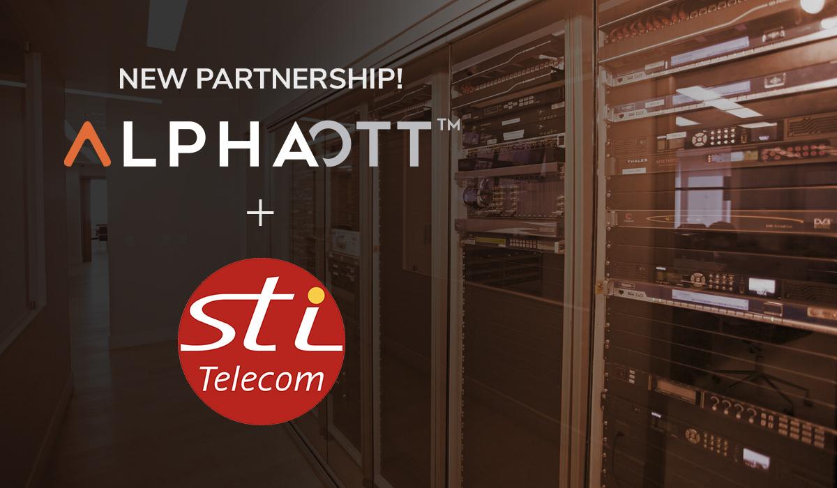 AlphaOTT partners with STI Telecom to expand its OTT / IPTV services